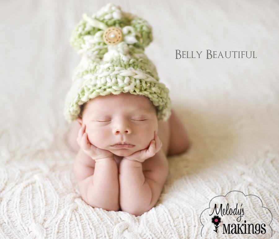Free Baby Sack Hat Pattern