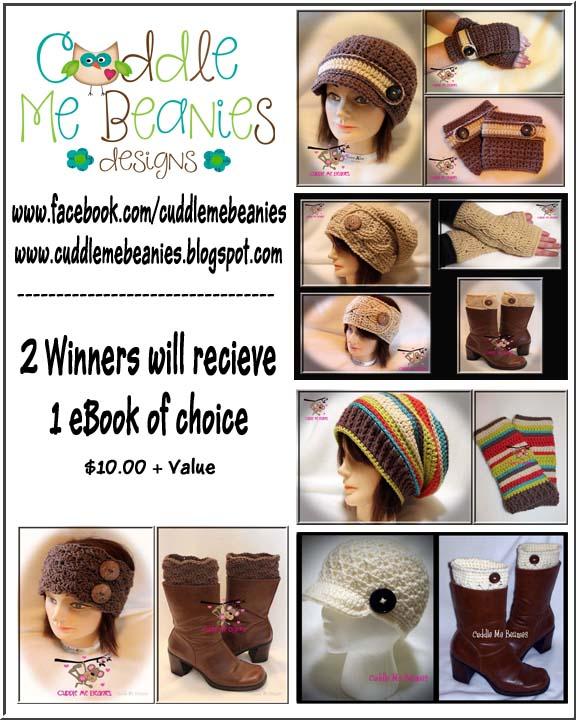 Cuddle Me Beanies - 2 Winners E-Book of Choice