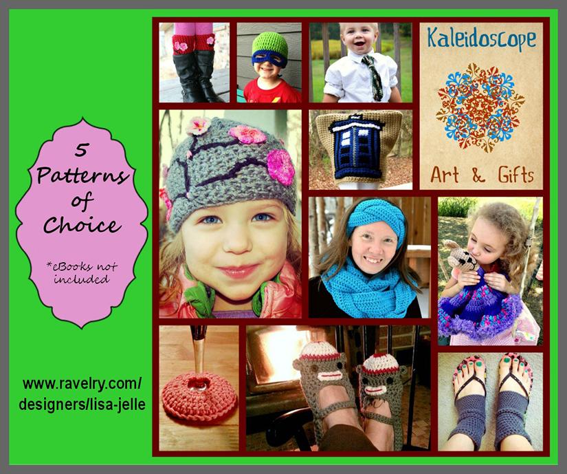 Kaleidoscope Art&Gifts - 5 Pattern Bundle