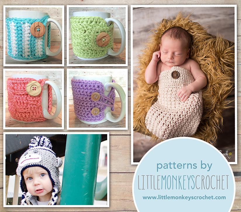 Litte Monkeys Crochet - 6 Premium Patterns (specific ones)