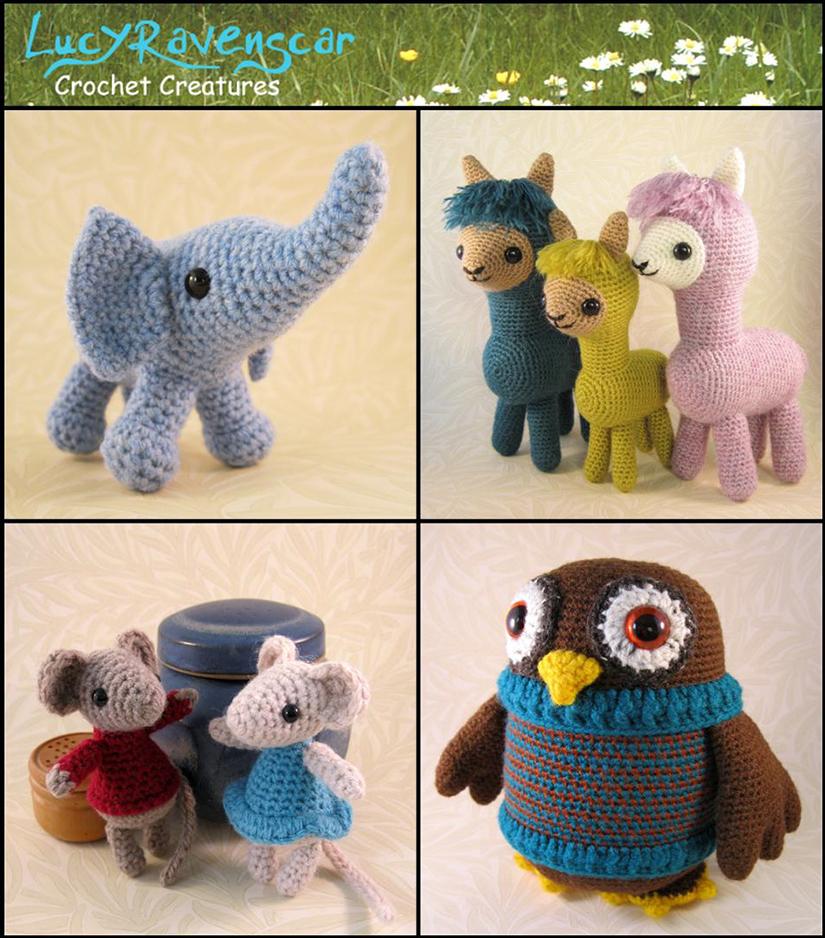 LucyRavensCar Crochet Creatures - £13.20 Shop Credit