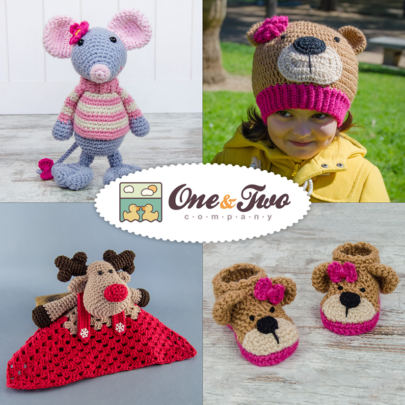 One and Two Company - 5 Crochet Patterns of Choice to One Winner