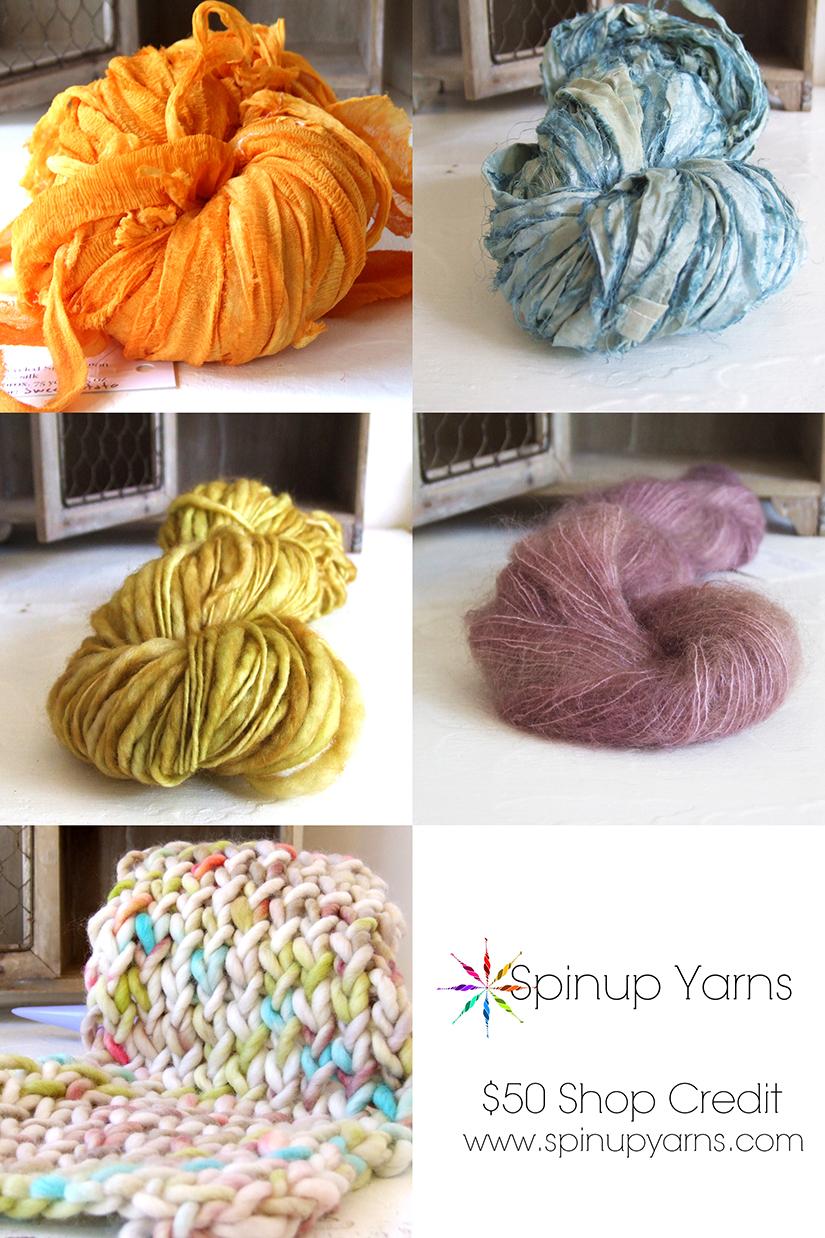 Spinup Yarns - $50 Shop Credit