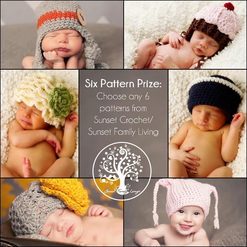 Sunset Crochet - 6 Pattern Pack