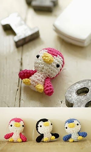 Free Pattern for the cuddliest, cutest, snuggliest little crochet penguin you've ever seen!