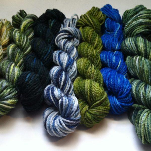 Unplanned Peacock - Free Skein of Sock...yarn of choice