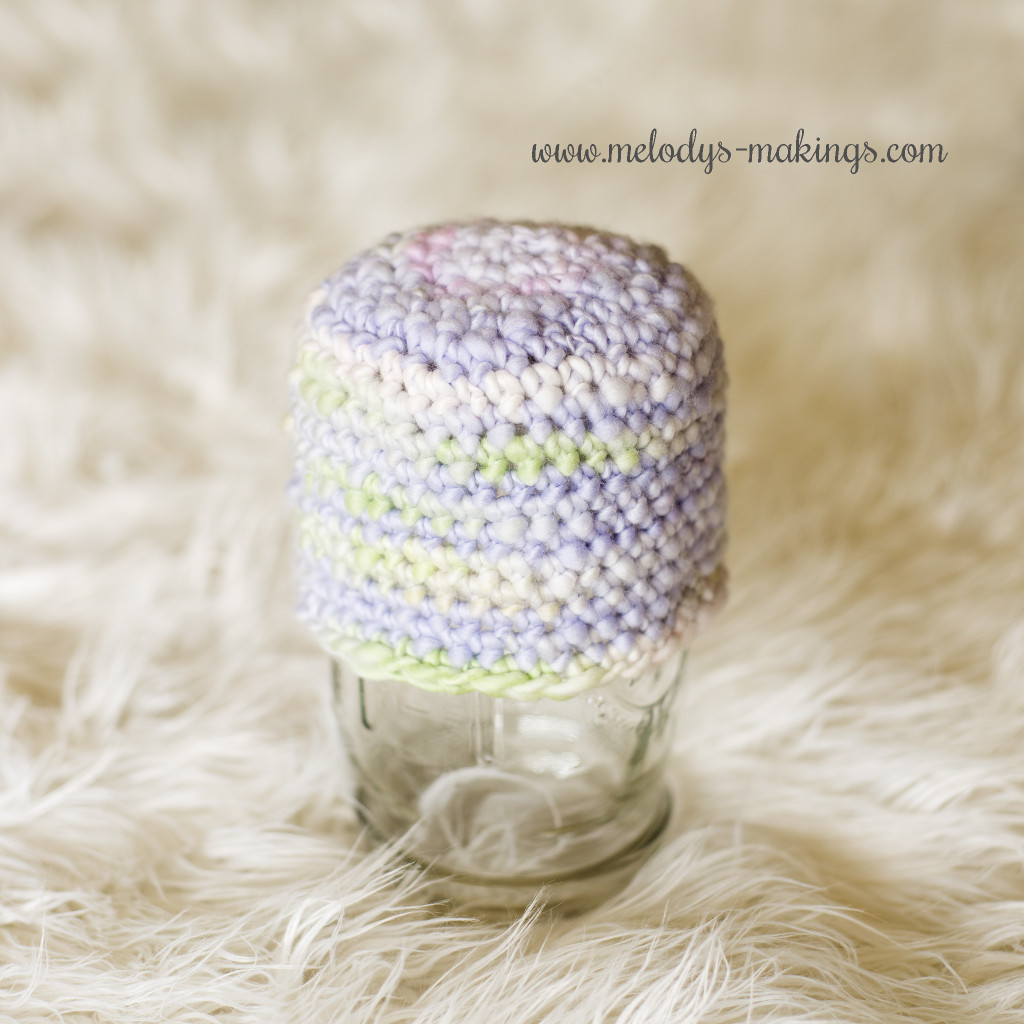 Free Thick and Thin Beanie Crochet Pattern