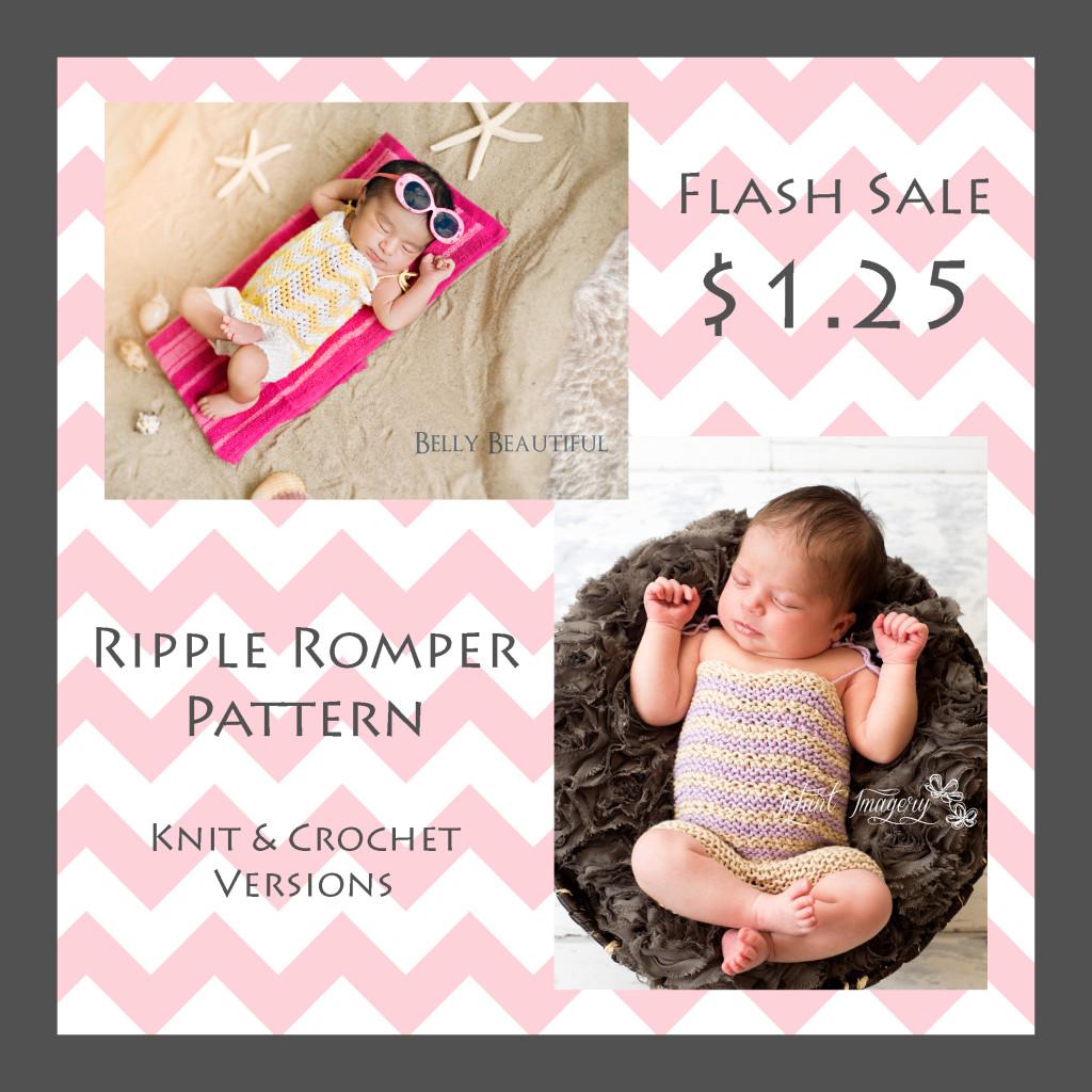 Ripple Romper Flash Sale