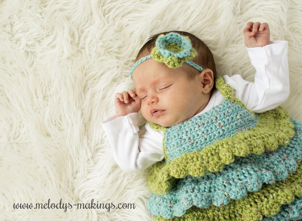 Baby Ruffle Shirt Crochet Pattern