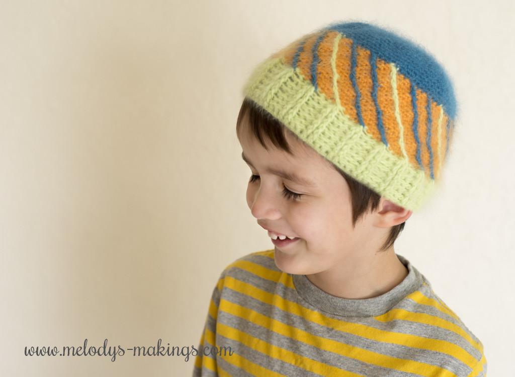 Bias Beanie Crochet