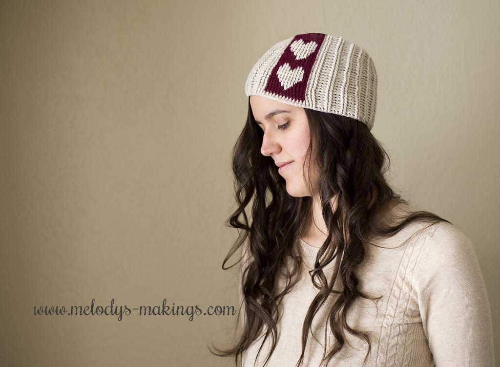 Free Heart Hat Crochet Pattern