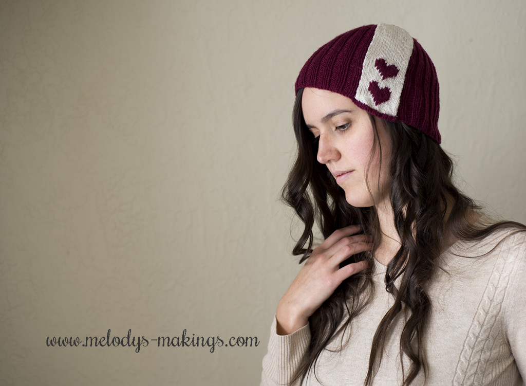 Free Valentine Day Hat Knit Pattern
