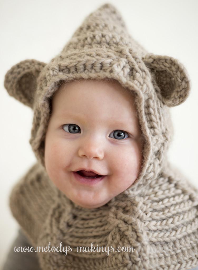 Free Crochet Pattern Bear Hood : January s Mystery is Complete! Melodys Makings