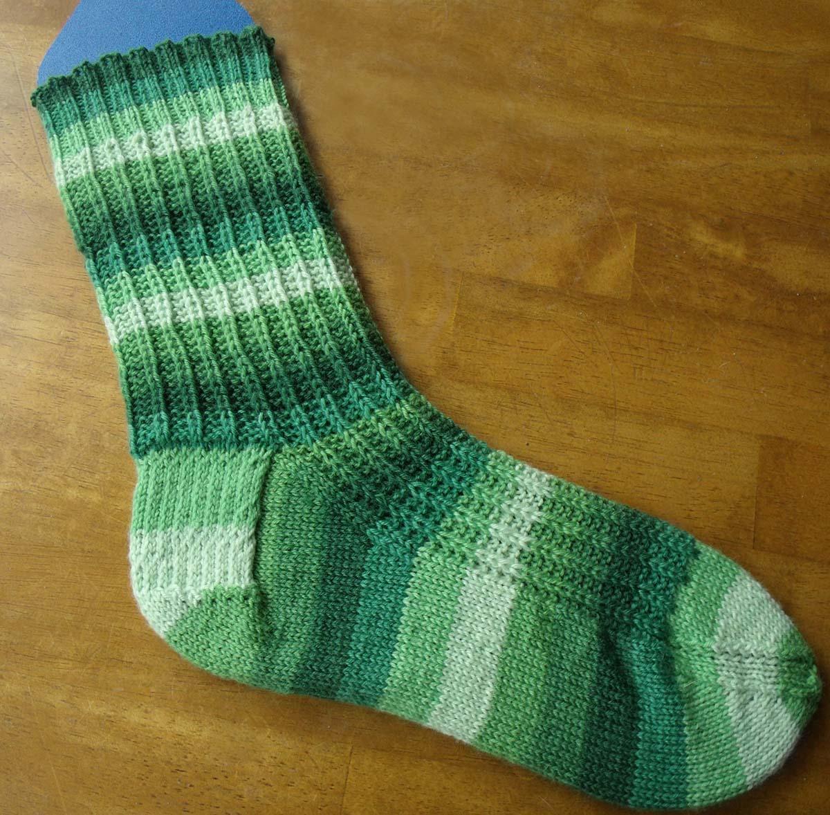 Free Sock Knitting Pattern! | Melody's Makings