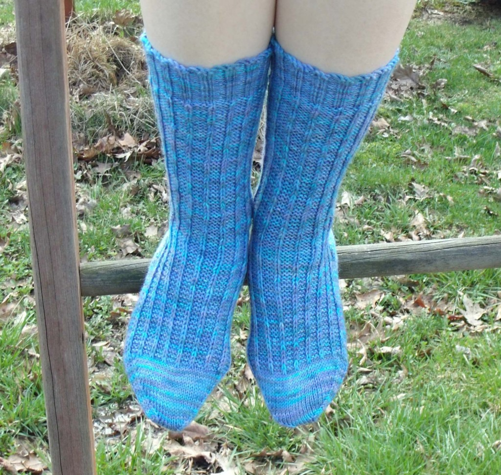 Easy Sock Knitting Pattern : Free Sock Knitting Pattern! Melodys Makings