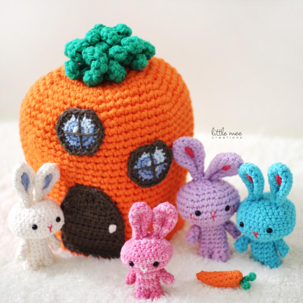Free Amiguarmi Bunny Rabbit Crochet Pattern