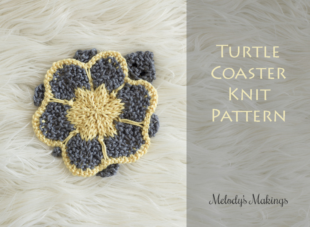 Turtle Coaster Knit Pattern