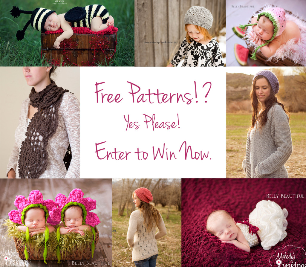Win Free Knit or Crochet Patterns - small