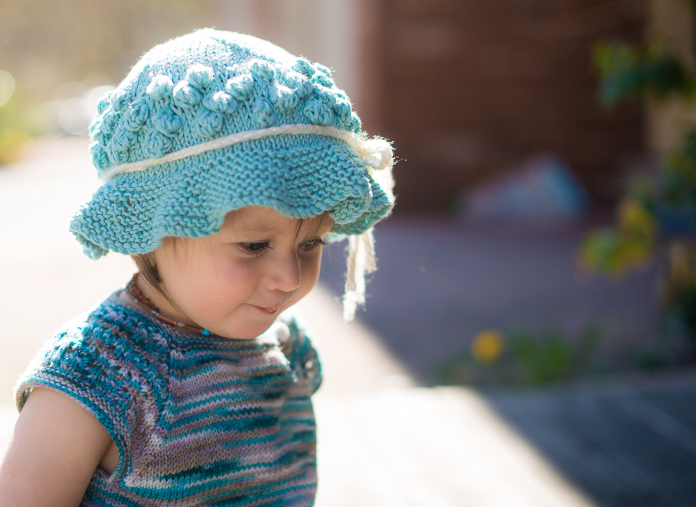 Pebble Beach Hat {Free Pattern} Melodys Makings