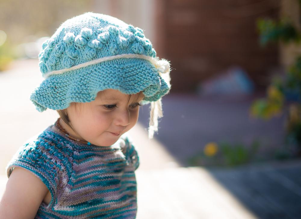 Free Beach Hat Knitting Pattern