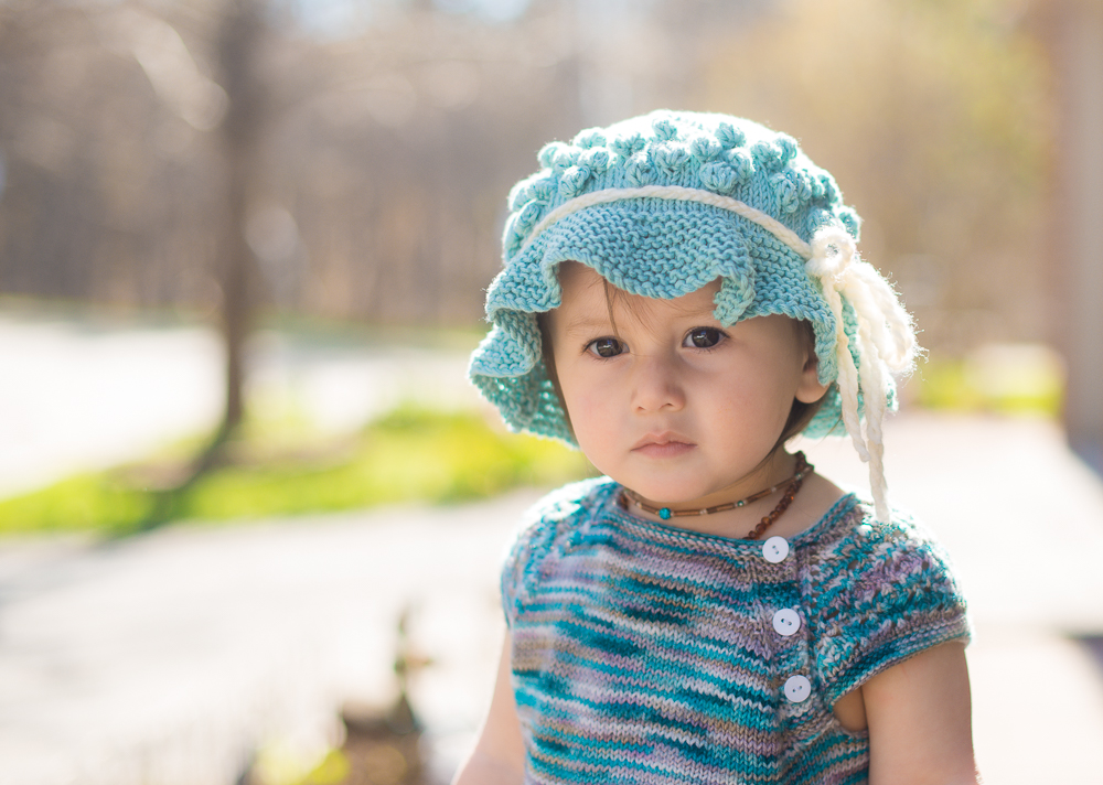 Free Sun Hat Knitting Pattern