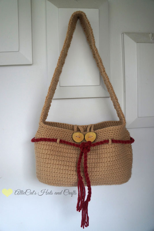 Free Crochet Patterns Purses Handbags : Washed Ashore Handbag {Free Crochet Pattern} Melodys ...
