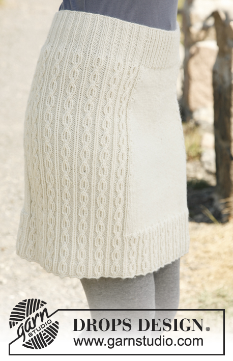 Knit Skirt Pattern : 10 Knit or Crochet Skirts Youll Adore! Melodys Makings