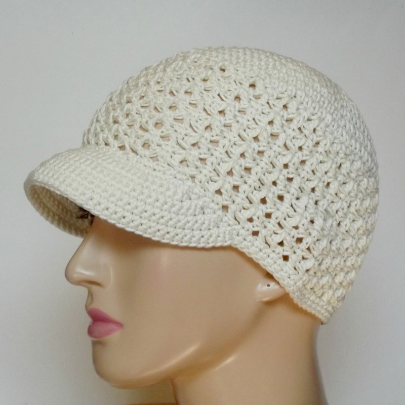 Blossom Cap {Free Crochet Pattern} | Melody\'s Makings