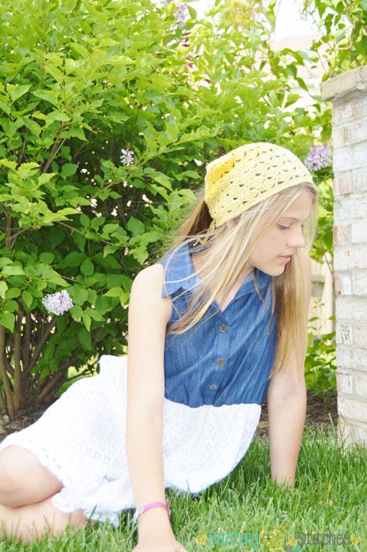 Bandana-Headband-free-crochet-pattern