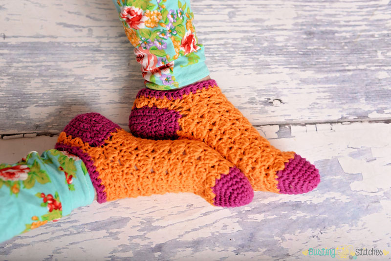 crochet-sock-pattern