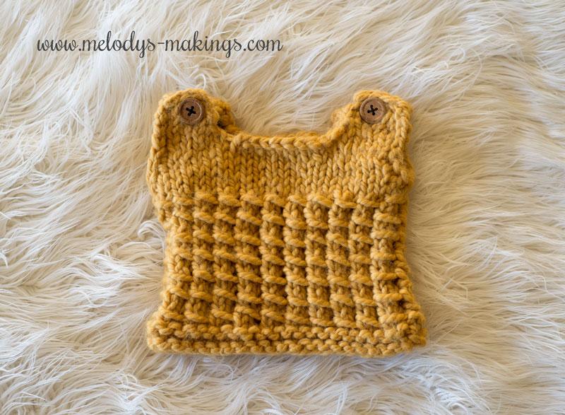 knit baby vest pattern