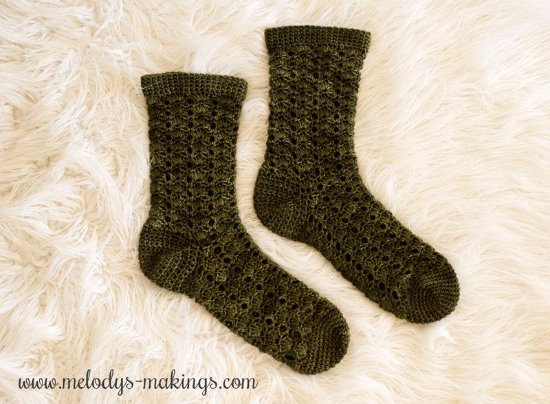 Wildlings Socks Free Crochet Pattern Melodys Makings