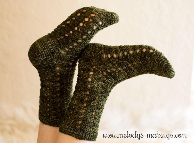Sock Crochet Patterns