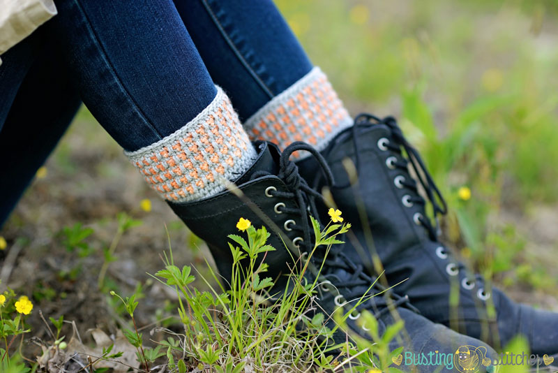 Free Boot Cuff Crochet Pattern