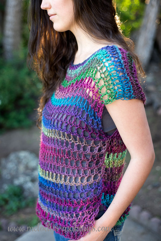 Everyday Top Free Crochet Pattern Melodys Makings