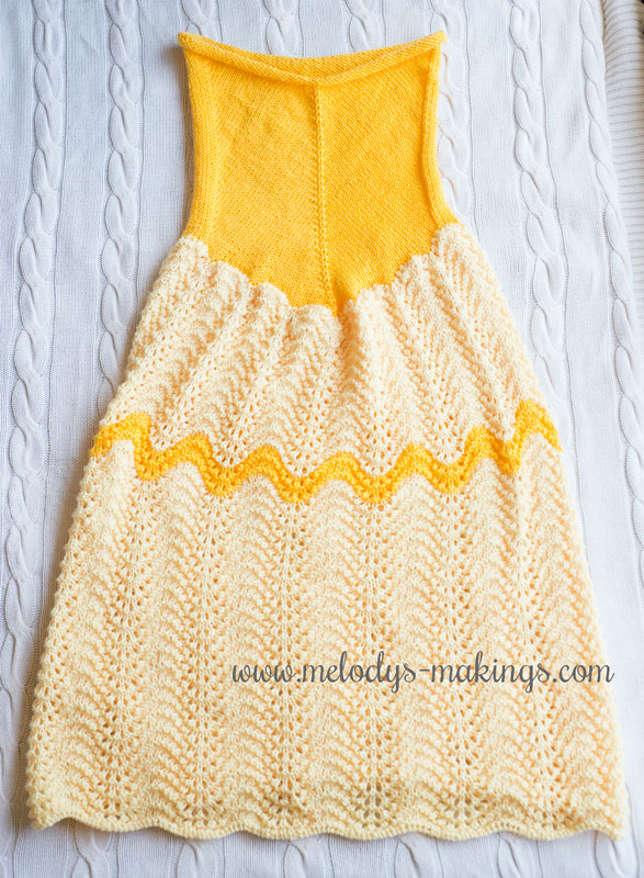 Knit Princess Dress Blanket
