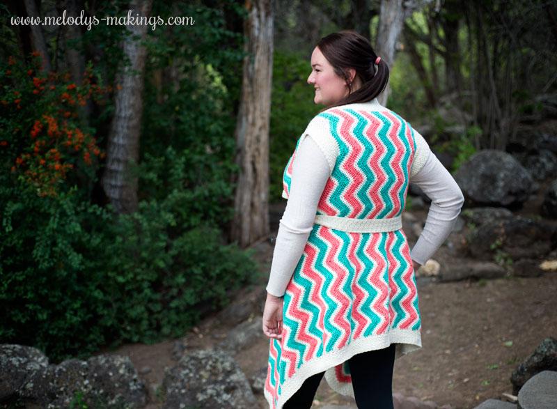 Crochet Plus Size Cardigan