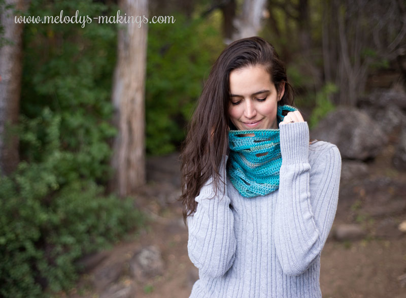 Adult Crochet Cowl