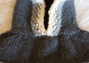 Knit Hood Cowl Collar