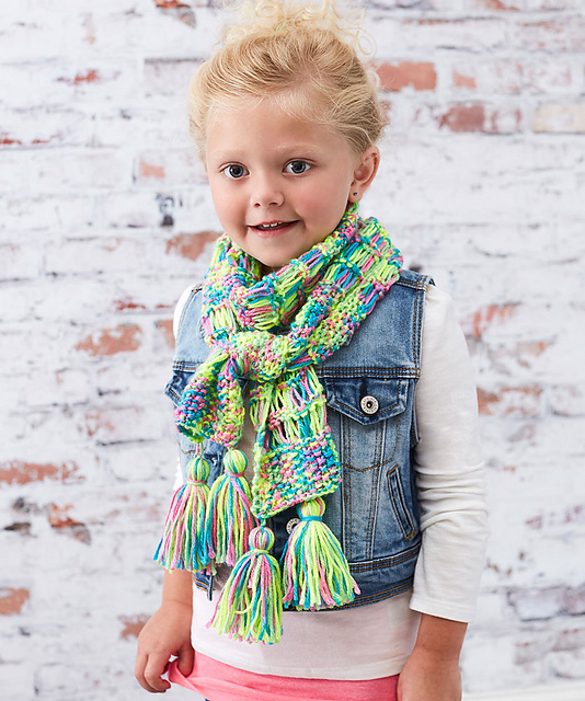 Children's Knit Scarf