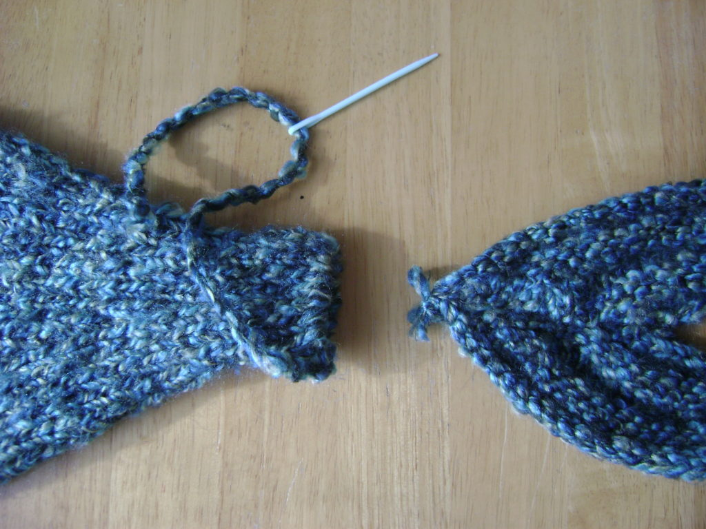 Knit Mermaid Fin