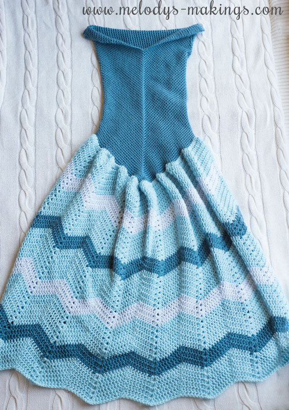 crochet dress blanket like frozen