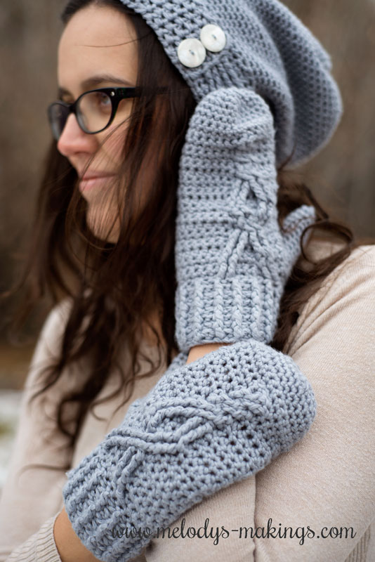 Thank you for joining in an important discussion about depression during the month of November!  Please enjoy this crochet mittens pattern FREE as a thanks.