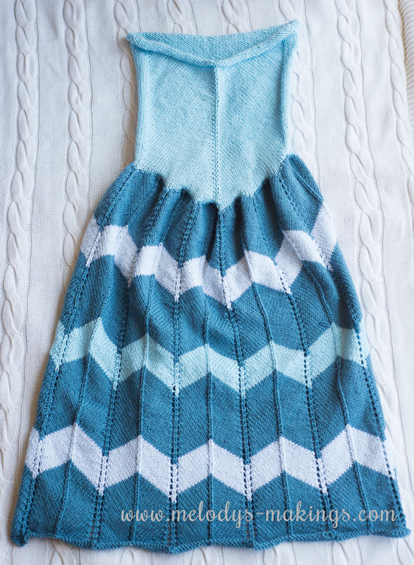 Knit Dress Blanket