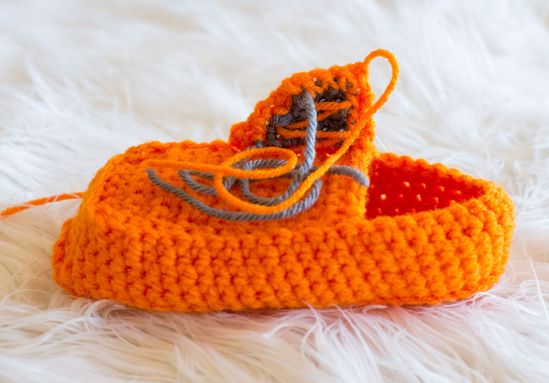 Crochet Slipper Tutorial Photo 16