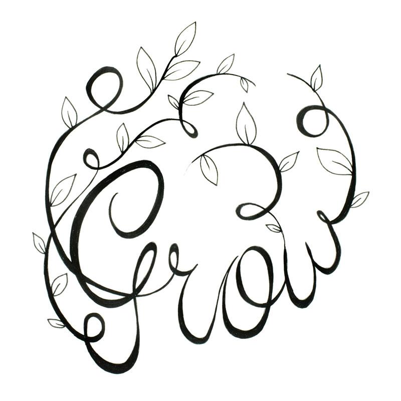 Art Grow with Vine
