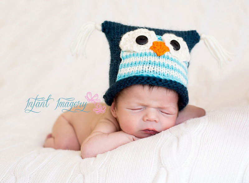 Baby Owl Hat Knitting Pattern