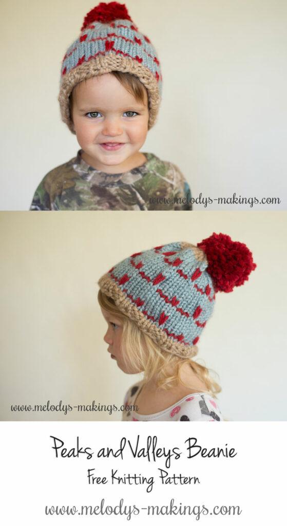 Knit Beanie Pattern